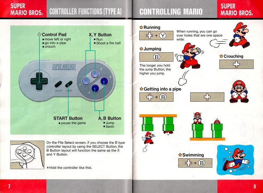 smb1 instruction manuals rh atari2600land com game manual simcity 4 game manuals archive